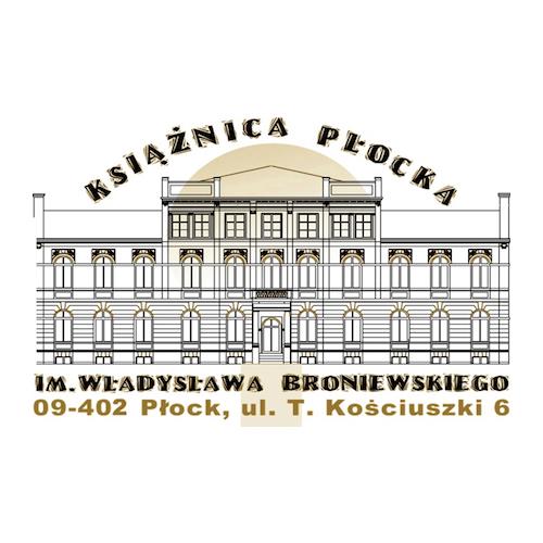 Logo Książnicy Płockiej