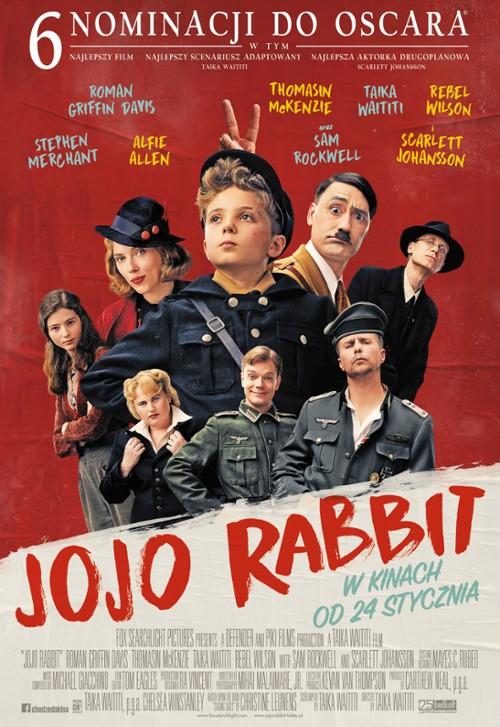 Jojo Rabbit - plakat filmu