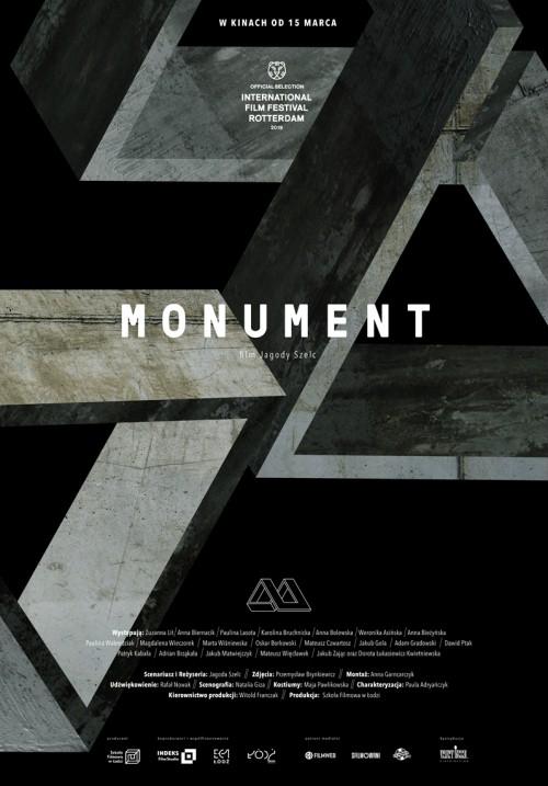 Monument - plakat filmu