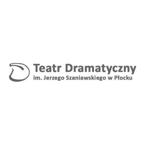 Logo Teatru Dramatycznego im. Jerzego Szaniawskiego w Płocku